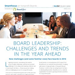 Board Leadership - Challenges And Trends