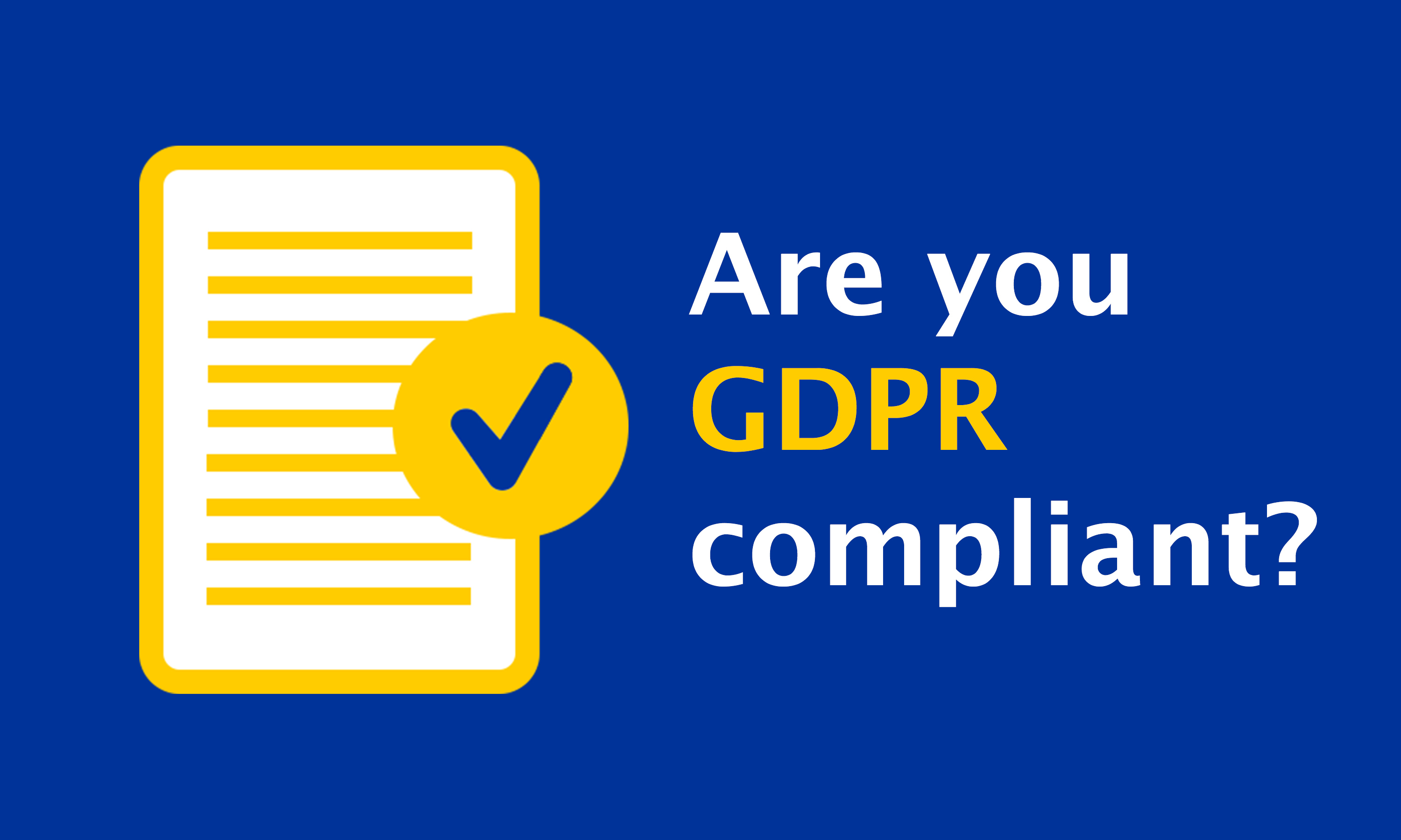 Make Sure Your Nonprofit Is Storing Data Properly To Remain Compliant For GDPR