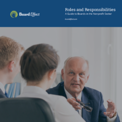 The Roles And Responsibilities Of A Board Of Directors For A Nonprofit