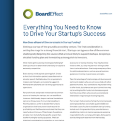 Everything You Need To Know To Drive Your Startups Success