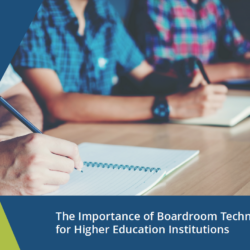 Boardroom Technology Higher Education
